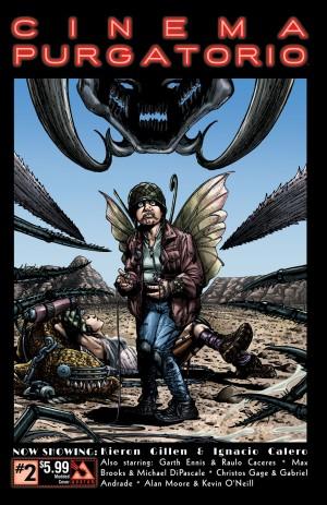 Cinema Purgatorio #2 Modded cover. Art by Ignacio Calero