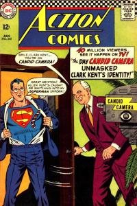 Superman caught changing identities in 1967